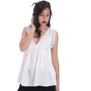 Textiel Dames Tops / Blousjes Gaudi 011FD45026 Beige