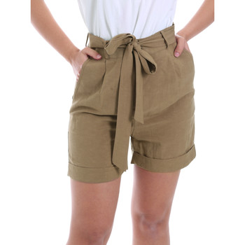 Textiel Dames Korte broeken / Bermuda's Gaudi 011BD25046 Bruin