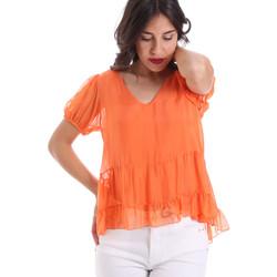 Textiel Dames Tops / Blousjes Gaudi 011BD45034 Oranje