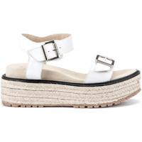 Schoenen Dames Sandalen / Open schoenen Lumberjack SW43706 002 B01 Wit