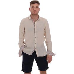 Textiel Heren Overhemden lange mouwen Sseinse CE538SS Beige