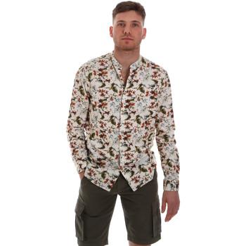 Textiel Heren Overhemden lange mouwen Sseinse CE526SS Beige