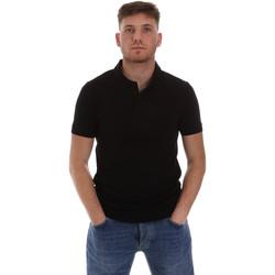 Textiel Heren Polo's korte mouwen Sseinse ME1517SS Zwart