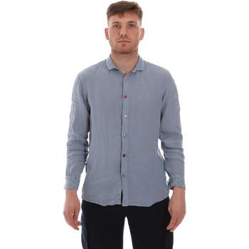Textiel Heren Overhemden lange mouwen Sseinse CE538SS Blauw