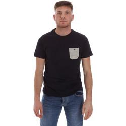 Textiel Heren T-shirts korte mouwen Sseinse ME1588SS Blauw