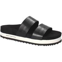 Schoenen Dames Leren slippers Fornarina PE18SA2913 Zwart