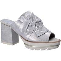 Schoenen Dames Leren slippers CallagHan 22601 Grijs