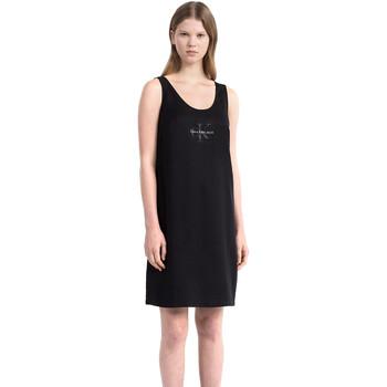 Textiel Dames Korte jurken Calvin Klein Jeans J20J206937 Zwart