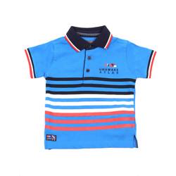 Textiel Kinderen Polo's korte mouwen Losan 015-1037AL Blauw