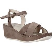 Schoenen Dames Sandalen / Open schoenen Lumberjack SW83606 001 D01 Bruin