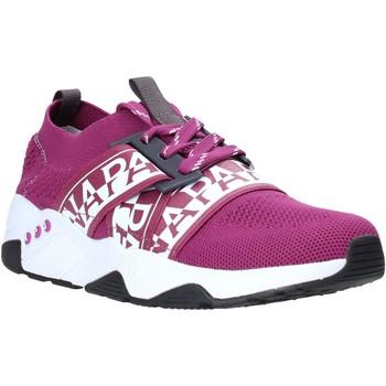 Schoenen Dames Lage sneakers Napapijri NA4ET7 Paars