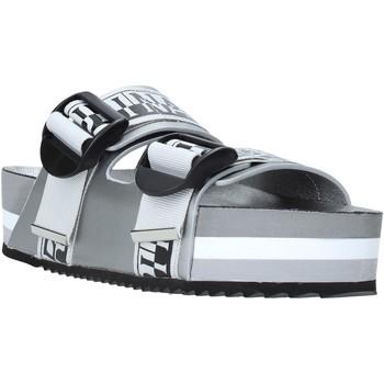 Schoenen Dames Leren slippers Napapijri NA4EUV Zilver