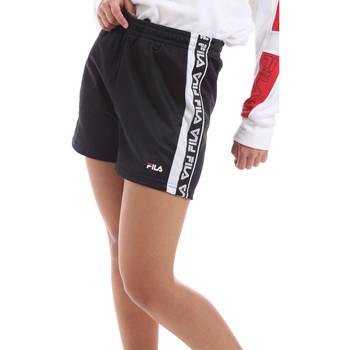 Textiel Dames Korte broeken / Bermuda's Fila 687689 Zwart