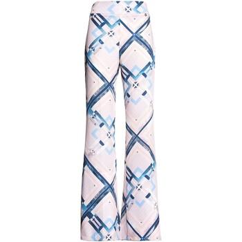 Textiel Dames Losse broeken / Harembroeken Fracomina FR20SM042 Roze