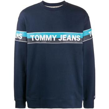 Textiel Heren Sweaters / Sweatshirts Tommy Jeans DM0DM07894 Blauw