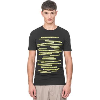 Textiel Heren T-shirts korte mouwen Antony Morato MMKS01749 FA120001 Zwart
