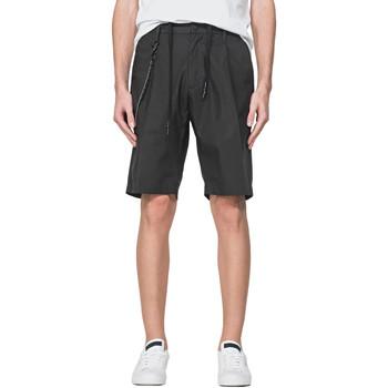 Textiel Heren Korte broeken / Bermuda's Antony Morato MMSH00157 FA900118 Zwart