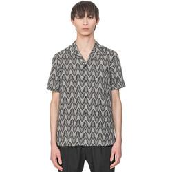 Textiel Heren Overhemden korte mouwen Antony Morato MMSS00156 FA430413 Beige