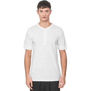 Textiel Heren T-shirts korte mouwen Antony Morato MMKS01725 FA100139 Wit