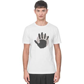 Textiel Heren T-shirts korte mouwen Antony Morato MMKS01765 FA100144 Wit