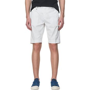 Textiel Heren Korte broeken / Bermuda's Antony Morato MMSH00141 FA800129 Wit