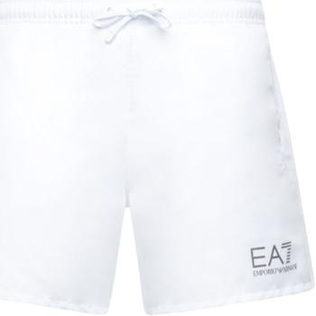 Textiel Heren Zwembroeken/ Zwemshorts Ea7 Emporio Armani 902000 CC721 Wit