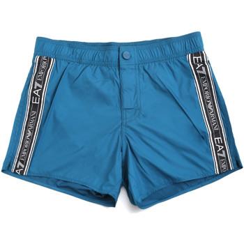Textiel Heren Zwembroeken/ Zwemshorts Ea7 Emporio Armani 902039 0P734 Blauw