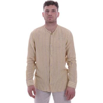 Textiel Heren Overhemden lange mouwen Sseinse CE534SS Beige