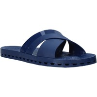 Schoenen Heren Leren slippers Sensi 4300/C Blauw