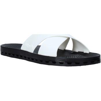 Schoenen Heren Leren slippers Sensi 4300/U Wit
