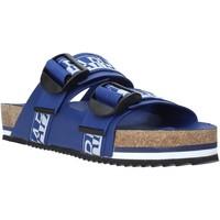 Schoenen Heren Leren slippers Napapijri NA4ETH Blauw