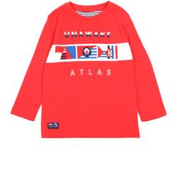 Textiel Meisjes T-shirts met lange mouwen Losan 015-1002AL Rood