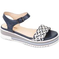 Schoenen Dames Sandalen / Open schoenen Valleverde 15150 Blauw