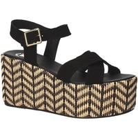 Schoenen Dames Sandalen / Open schoenen Exé Shoes G41007047004 Zwart
