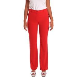 Textiel Dames Chino's Gaudi 811FD25013 Rood
