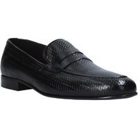 Schoenen Heren Mocassins Exton 1021 Zwart