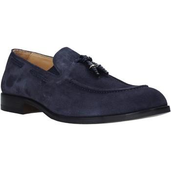 Schoenen Heren Mocassins Exton 1111 Blauw