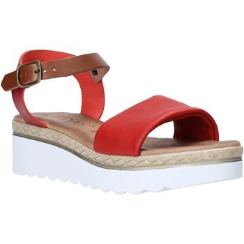 Schoenen Dames Sandalen / Open schoenen Jeiday 1278-9696 Rood