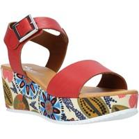 Schoenen Dames Sandalen / Open schoenen Grace Shoes 03 Rood