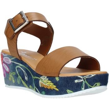 Schoenen Dames Sandalen / Open schoenen Grace Shoes 02 Bruin
