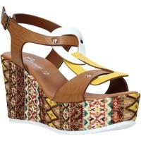 Schoenen Dames Sandalen / Open schoenen Grace Shoes 09 Bruin