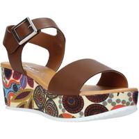 Schoenen Dames Sandalen / Open schoenen Grace Shoes 03 Bruin