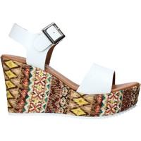 Schoenen Dames Sandalen / Open schoenen Grace Shoes 08 Wit