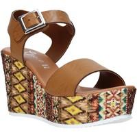 Schoenen Dames Sandalen / Open schoenen Grace Shoes 08 Bruin