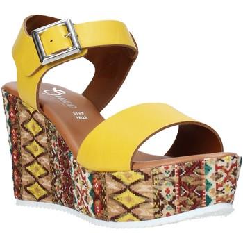Schoenen Dames Sandalen / Open schoenen Grace Shoes 08 Geel