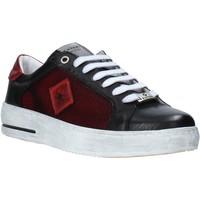 Schoenen Heren Lage sneakers Exton 177 Zwart