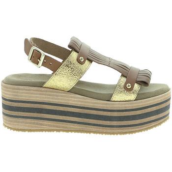 Schoenen Dames Sandalen / Open schoenen Pregunta IBH15804 Bruin