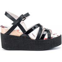 Schoenen Dames Sandalen / Open schoenen Lumberjack SW40006 003 O20 Zwart