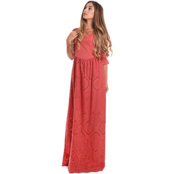 Textiel Dames Lange jurken Fracomina FR20SM506 Rood