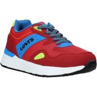 Schoenen Kinderen Lage sneakers Levi's VBOS0010T Rood